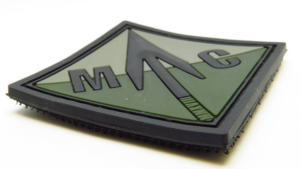 Manx airsoft member PVC morale patch